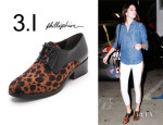 Kendall Jenner's 3.1 Phillip Lim 'Hacienda' Haircalf Oxfords