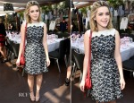 Kiernan Shipka In Tory Burch - Erin Kleinberg's Apres Surf Girls Event