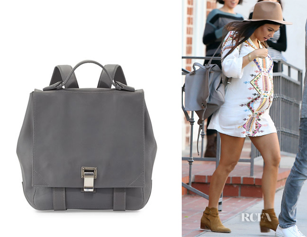 Kourtney Kardashian's Proenza Schouler PS Courier Backpack