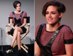 Kristen Stewart In Chanel - Apple Store Soho Presents: Meet the Filmmakers: 'Camp X-Ray'