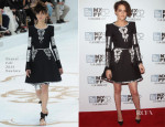 Kristen Stewart In Chanel Couture - 'Clouds Of Sils Maria' New York Film Festival Screening
