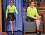Kristen Stewart In Polo Ralph Lauren - The Tonight Show Starring Jimmy Fallon