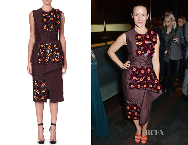 Kristin Davis' Roksanda Embellished Dress