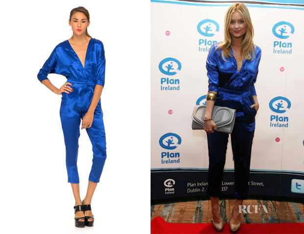 Laura Whitmore's Motel Monarch V Neck Jumpsuit