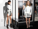 Leighton Meester In Balmain - 'The Judge' LA Premiere
