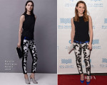 Leighton Meester In Narciso Rodriguez - 'Like Sunday, Like Rain' Mill Valley Film Festival Premiere
