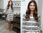 Lily Aldridge In Thakoon - Gilt And BluePrint Juice Celebrate Lily Aldridge's Fall Refresh