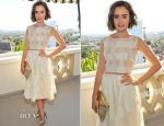 Lily Collins In Houghton - BAFTA Los Angeles and the Britannia Awards