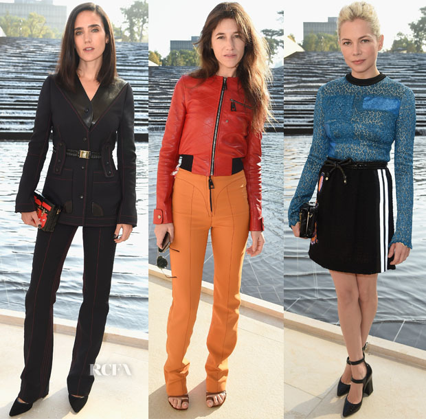 Louis Vuitton Spring 2015 Front Row