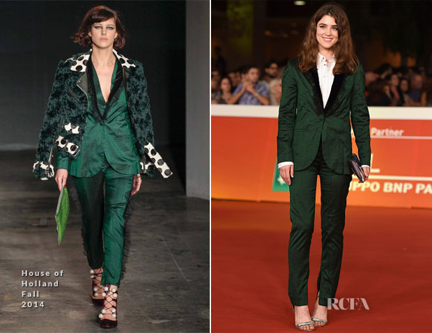 Lucy Griffiths In House of Holland - 'Last Summer' Rome Film Festival Premiere