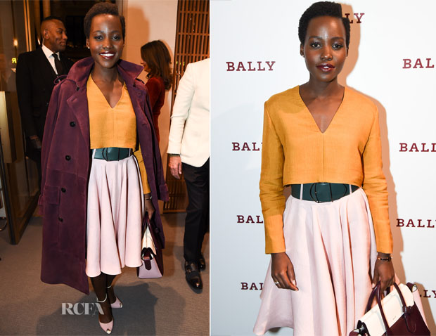 Lupita Nyong'o In Bally - Bally London Flagship Store Opening