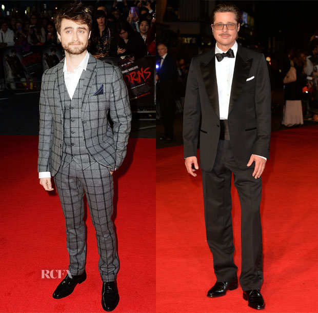 Menswear red carpet 21 october 2