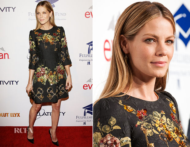 Michelle Monaghan In Dolce & Gabbana - 20th Annual Fulfillment Fund Stars Benefit Gala