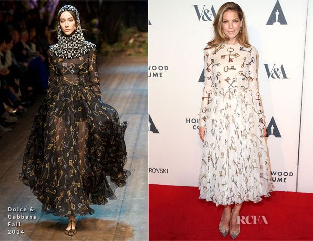 Michelle Monaghan In Dolce & Gabbana - The Academy of Motion Picture Arts and Sciences' Hollywood Costume Opening Party