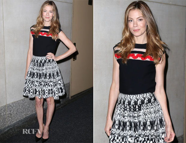 Michelle Monaghan In Giambattista Valli - The Today Show