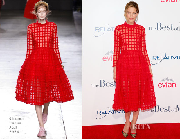 Michelle Monaghan In Simone Rocha - 'The Best Of Me' LA Premiere