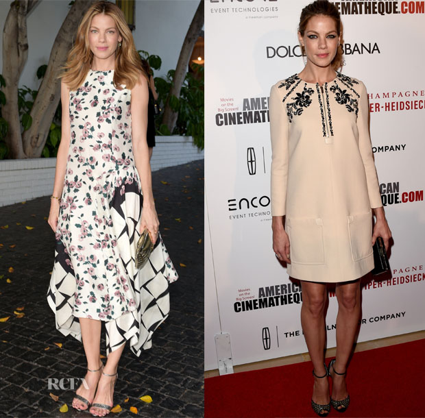 Michelle Monaghan In Suno & Miu Miu - 2014 CFDA/Vogue Fashion Fund Event & 28th American Cinematheque Award