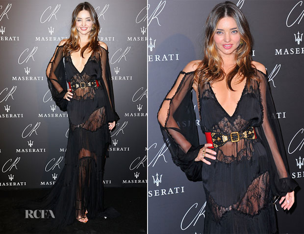 Miranda Kerr In Emilio Pucci -  CR Fashion Book Issue N°5 Launch Party
