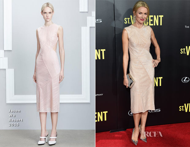 Naomi Watts In Jason Wu - 'St Vincent' New York Premiere