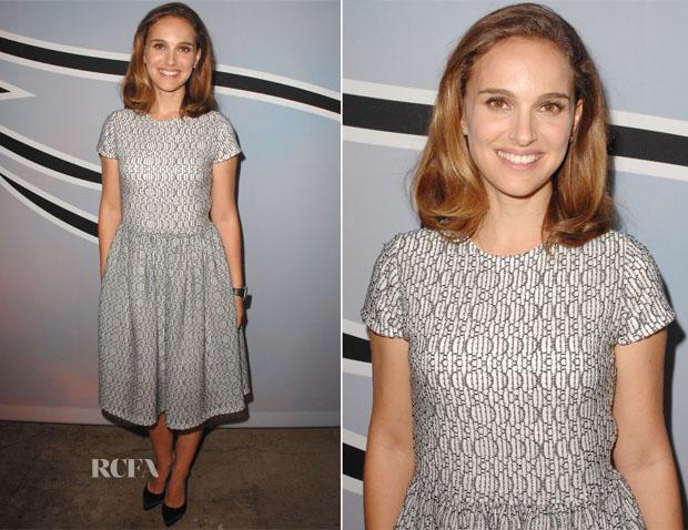 Natalie Portman In Dior -  LA Dance Project Benefit Dinner