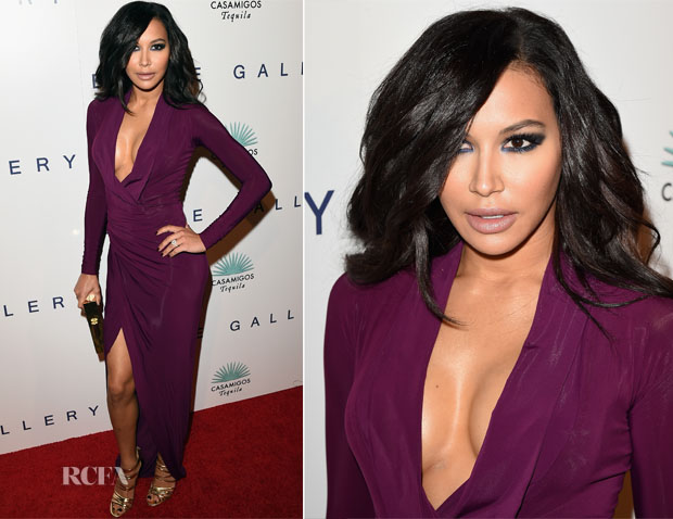 Naya Rivera In Donna Karan - The Brian Bowen Smith WILDLIFE Show