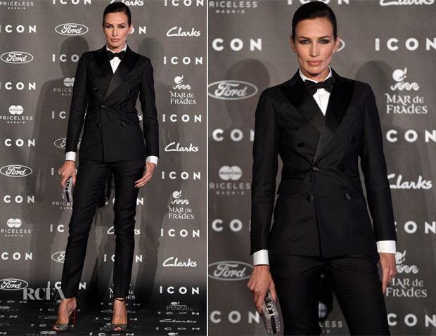 Nieves Alvarez In Dsquared² - 2014 Icon Magazine Awards