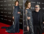 Nieves Alvarez In Roberto Cavalli Couture - Elle Style Awards 2014