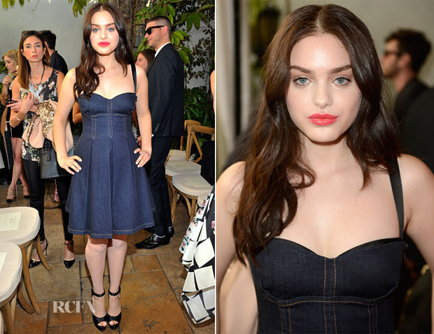 Odeya Rush In Miu Miu - 2014 CFDA/Vogue Fashion Fund Event