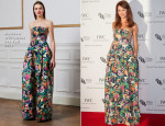 Olga Kurylenko In Matthew Williamson - BFI London Film Festival IWC Gala Dinner