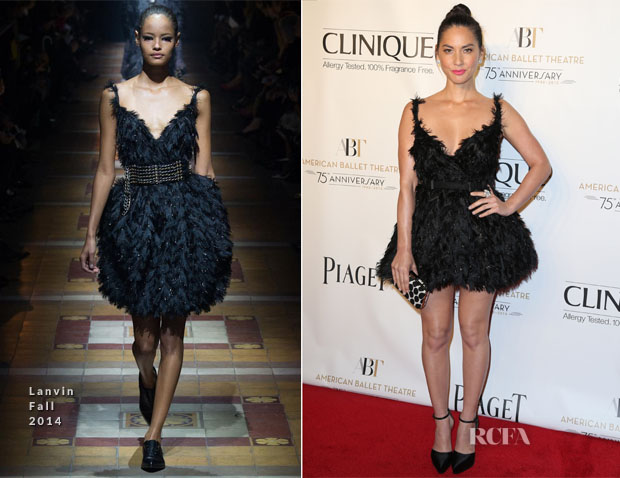 Olivia Munn In Lanvin - American Ballet Theatre 2014 Opening Night Fall Gala
