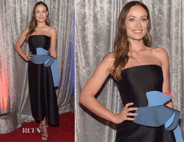 Olivia Wilde In Roksanda - IWMF Courage In Journalism Awards
