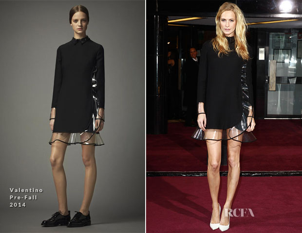 Poppy Delevingne In Valentino - Screening Of The new Annabel's Docu Film 'A String Of Naked Lightbulbs'