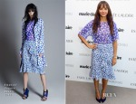 Rashida Jones In Emanuel Ungaro - Marie Claire's 2nd Annual New Guard Lunch