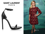 Reese Witherspoon's Saint Laurent 'Jane' Leather Sandals