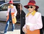 Rita Ora In Prada - BBC Radio 1 Studios