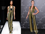 Rosie Huntington-Whiteley In Balmain - CR Fashion Book Issue No.5 Launch Party