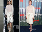 Ruth Wilson In Christopher Kane - 'The Affair' New York Series Premiere