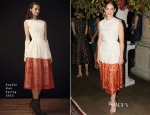 Ruth Wilson In Sophia Kah - The National Theatre Gala Dinner