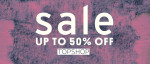 Get Up To 50% Off In The Topshop Sale