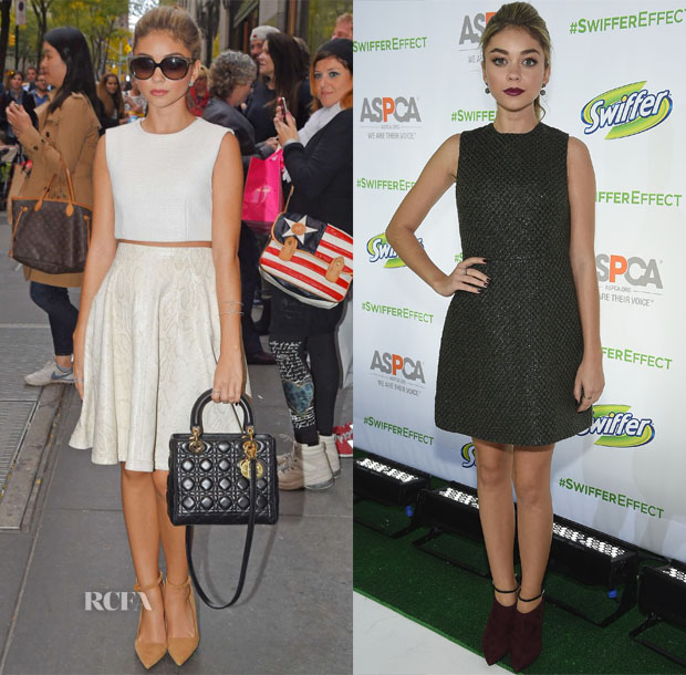Sarah Hyland's Four Looks In One Day2