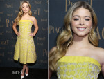 Sasha Pieterse In Carolina Herrera - Extremely Piaget Launch Event
