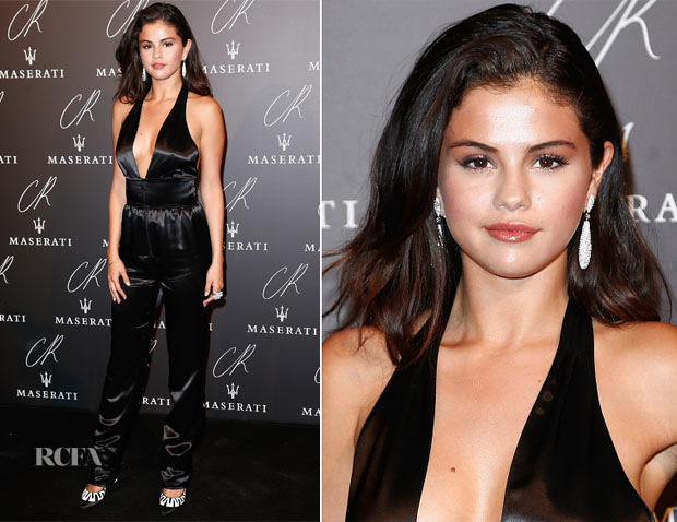 Selena Gomez In Louis Vuitton - CR Fashion Book Issue No.5 Launch Party