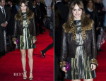 Suki Waterhouse In Lanvin - 'Love, Rosie' London Premiere