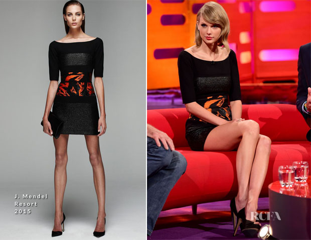 Taylor Swift In J Mendel - The Graham Norton Show