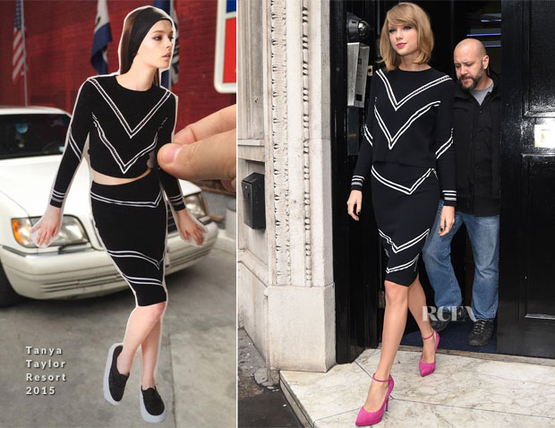 Taylor Swift In Tanya Taylor - KISS FM
