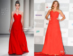 Teresa Palmer In Carolina Herrera - 19th Busan International Film Festival Opening Ceremony