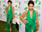 Vanessa Hudgens In Diane von Furstenberg - Global Green USA's 10th Anniversary Gorgeous & Green Gala