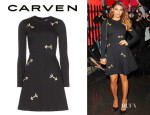 Vanessa White's Carven Arrow Cotton Dress