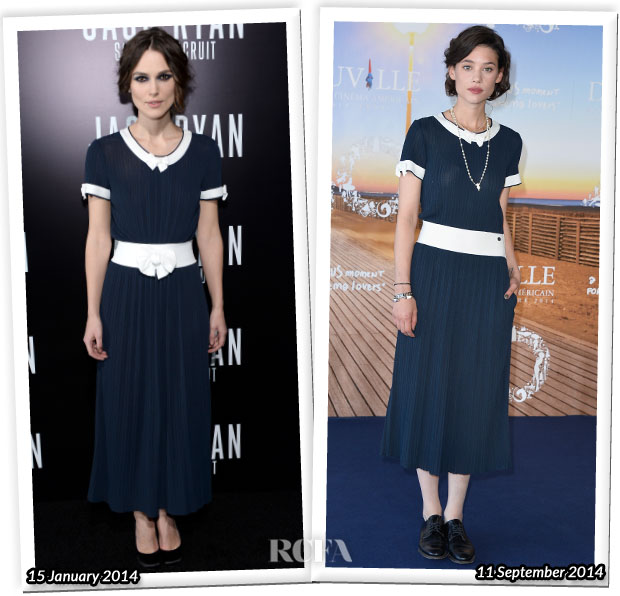 Who Wore Chanel Better...Keira Knightley or Astrid Berges-Frisbey?