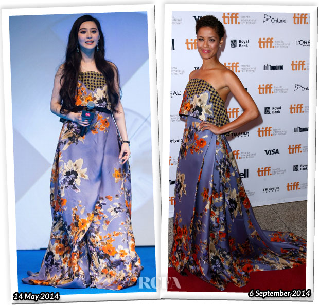 Who Wore Delpozo Better Fan Bingbing or Gugu Mbatha-Raw